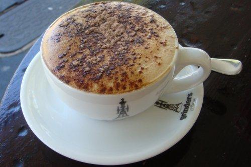 Skim cappuccino