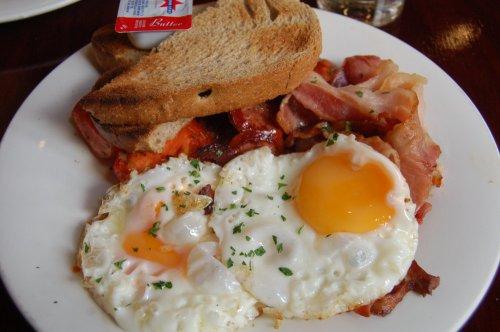 Heeley street breakfast