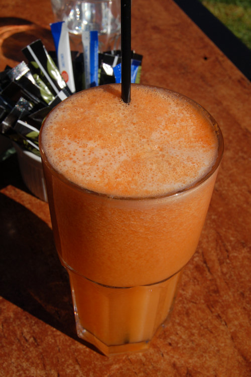 Orange and pineapple juice