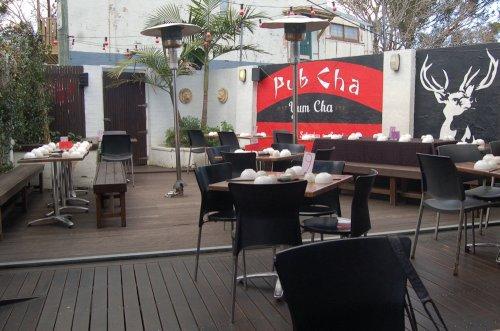 Pub Cha courtyard