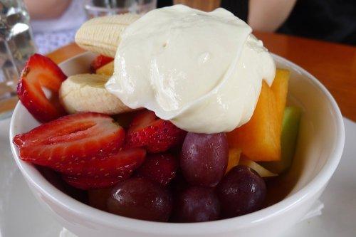 Seasonal fresh fruit salad