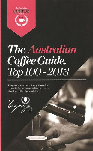 The Australian Coffee Guide Top 100 - 2013