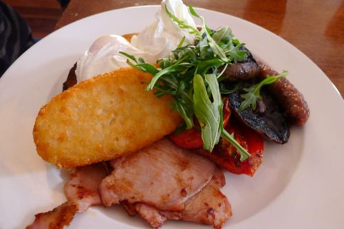 Ottimo breakfast (poached eggs)