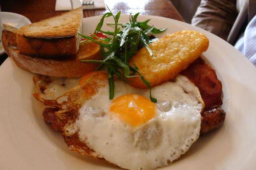 Ottimo breakfast (fried eggs)