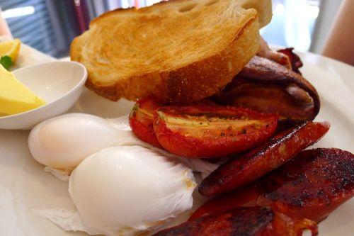 The Flat White breakfast