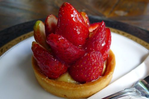 Strawberry tartelette