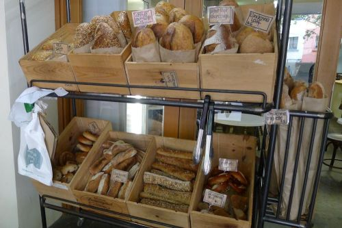 Self service bread bar
