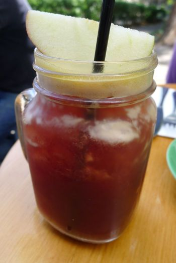 Apple and cherry cooler