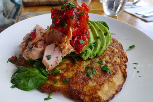 Trout rosti