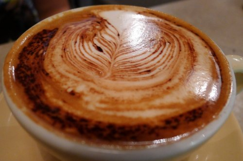 Soy cappuccino