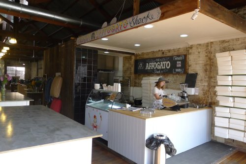 Upstairs cronut and affogato shack