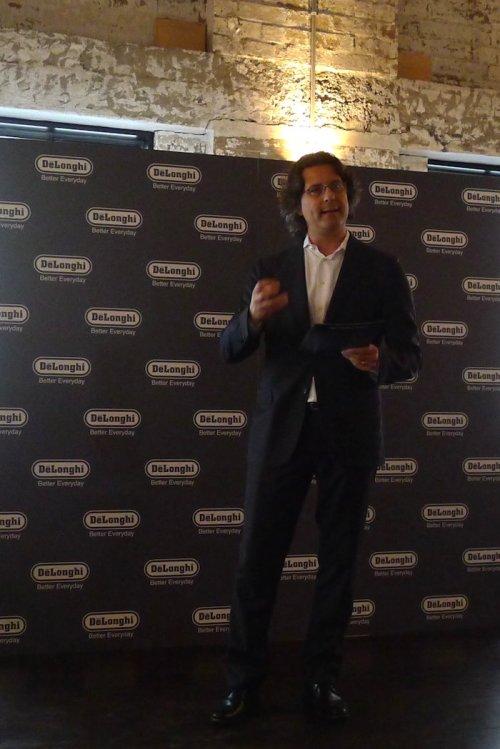 Paolo Albertoni, CEO of De'Longhi Australia