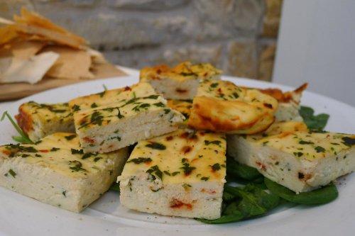 Ricotta with Gourmet Garden herbs