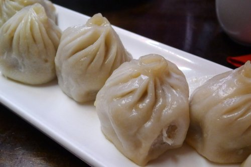 Xiao long boa Shanghai dumplings