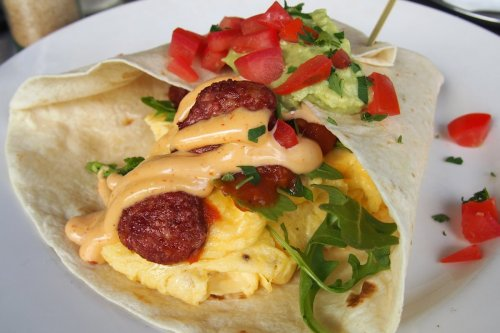 Brekky burrito