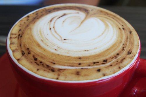 Cappuccino with vanilla