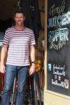 Bruce 'Hoppo' Hopkins at Bondi Rescue HQ