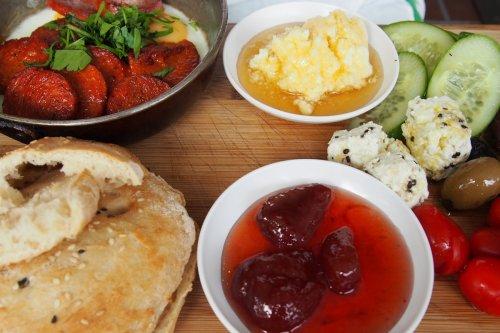 Traditional Turkish breakfast