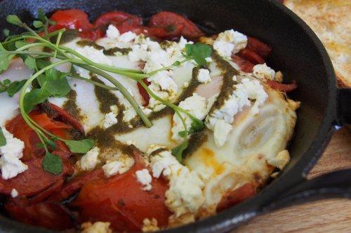 Aegean breakfast skillet