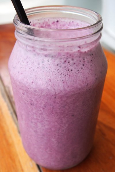 Blueberry is the new banana smoothie