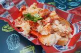 Broadway Bites food market, Connecticut lobster roll (butter and lemon)