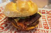 Smashburger, bacon and cheese burger