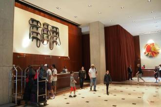 Le Parker Meridian lobby...