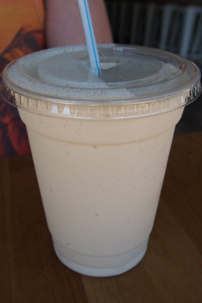 Caramel milkshake