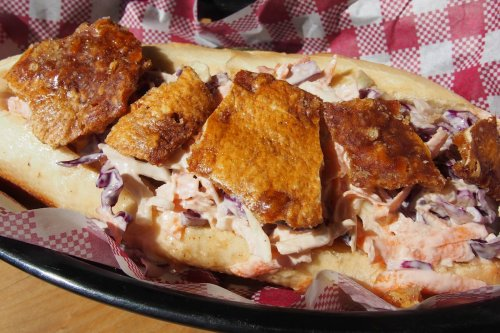 Crispy pork roll