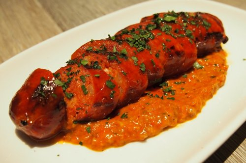 Chorizo with Romesco