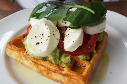 Balmoral Caprese waffle