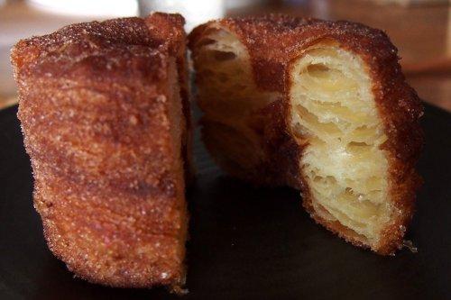 Cinnamon cronut