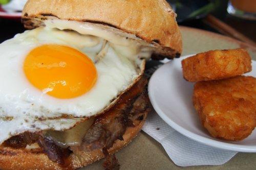 3hr chilli pork & sunny up egg