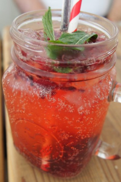 Real berry lemonade