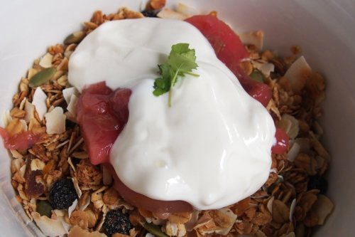House made toasted muesli