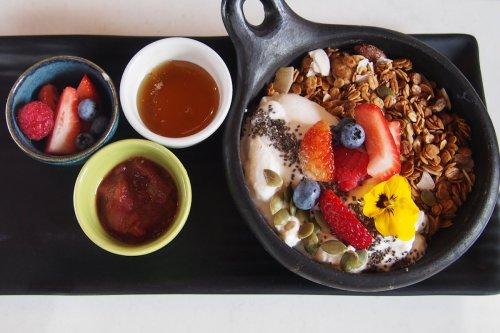 Granola super bowl