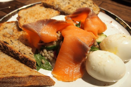 Smoked ocean trout