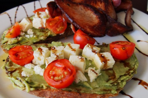 Avocado and feta smash